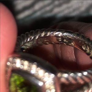 David Yurman Jewelry - David Yurman peridot ring